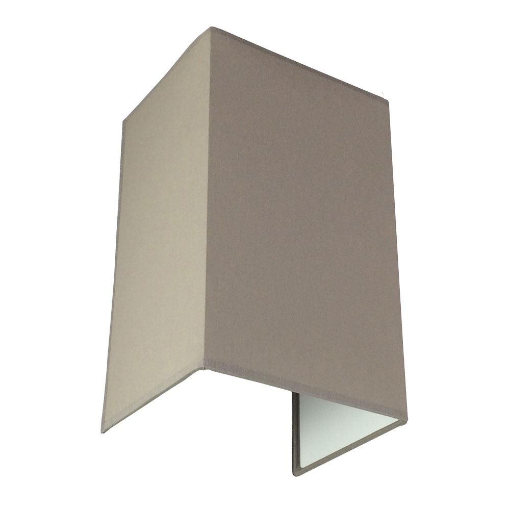 FLOATING GREY VERTICLE WALL LIGHT